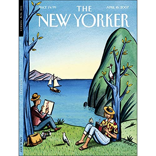 The New Yorker (April 16, 2007) audiobook cover art