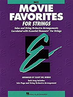 Essential Elements Movie Favorites for Strings: String Bass