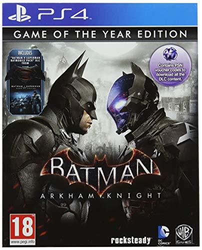 Warner Bros PS4 Batman Arkham Knight Goty Europa Standard PlayStation 4