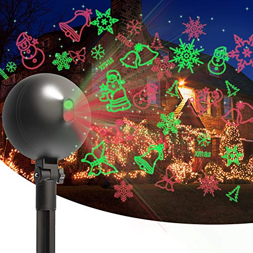 Christmas Laser Lights Projector Ou…
