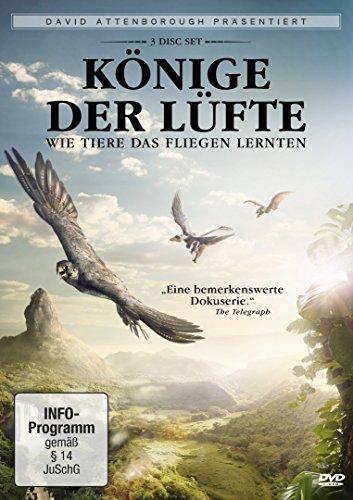 David Attenborough: Könige der Lüfte [3 DVDs]