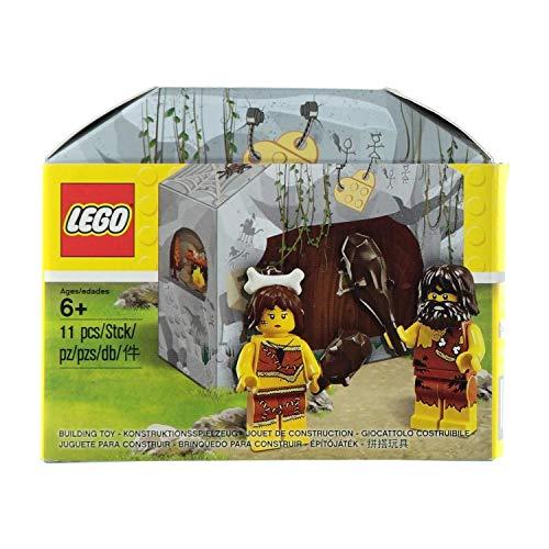 Lego Exklusiv 5004936 - Höhlenset mit 2 Steinzeitmenschenfiguren