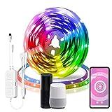 XWX Luces De Tira LED 5050 SMD 600 Leds Color Cambio De Color RGB LED Luces LED For Habitación De Dormitorio Cocina Techo Y TV (Color : 20m)