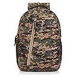 Wesley Army Print 16 inch 35 L Casual Waterproof Laptop Backpack/Office Bag/School Bag/College