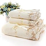 ShSnnwrl Light Weight Quick Dry Soft Wash ClothsToallas de baño de Fibra...