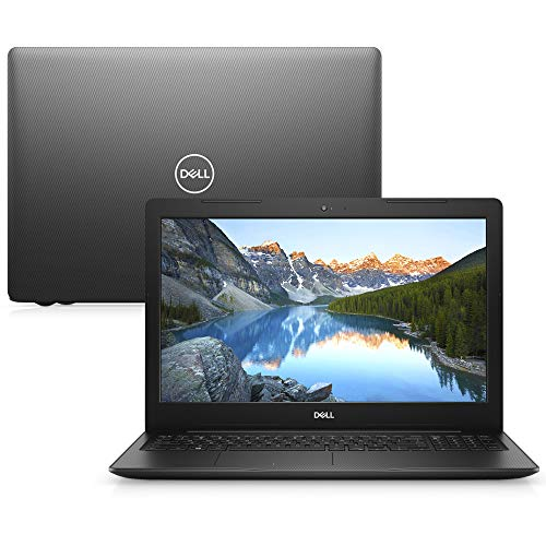 "Notebook Dell Inspiron i15-3583-M3XP 8ª Geração Intel Core i5 8GB 1TB 15.6"" Windows 10 Preto McAfee"