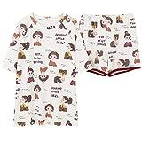 Homeclothes Homesuit Kurzarm Kurzhose Damen Pyjama Rundhals Pyjama Set Nachtwäsche Soft Fashion Style Pyjamas Set