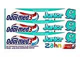 3x Odol med3 Junior Zahn 6+ Jahre, Milch und erstbleibende Zähne 50ml