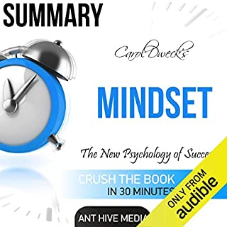 Carol Dweck's Mindset: The New Psychology of Success Summary cover art