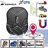 Zeerkeer GPS Tracker, Waterproof Car Tracker Anti-lost GPS Locator 3 Months Long Stand