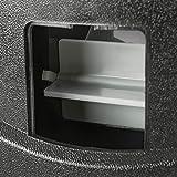 AREBOS Münzzähler | 300 Münzen pro Minute | für Euro Münzen | 8 mobile Sortierbehälter | mit Sortier- und Zählfunktion | LED-Display | Sortiermaschine | Geldzählmaschine | Schwarz | - 5
