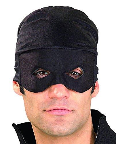 Rubie's Men's Zorro Adult Bandana and Eye Mask, Black, One Size