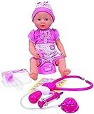 Simba 105032355 New Born Baby avec Accessoires de Docteur