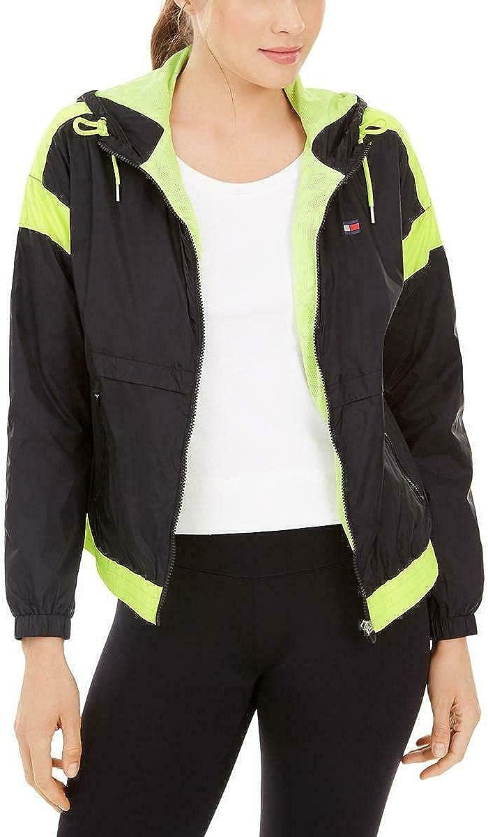 Tommy Hilfiger Women's Long Sleeve Zip Up Windbreaker