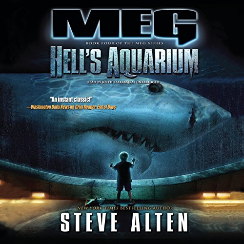 Meg: Hell's Aquarium audiobook cover art