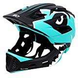 Kids Bike Helmet 3-15 Years, CE Certified Breathable Ultralight Adjustable Cycling Helmet Toddler for Bicycle, Skateboard, Scooter, Rollerblading, Children Protective Gear (20-22 Inches)