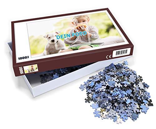 Puzzle mit eigenem Foto gestalten, 112 bis 1000 Teile | Individuelles Foto-Puzzle mit eigenem Bild zum selbst gestalten, ideal als persönliches Fotogeschenk (1000 Teile)