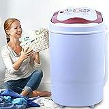 6 kg, mini lavatrice da viaggio, portatile, da campeggio, con centrifuga per cantine, studenti, camper