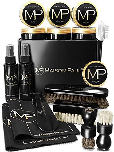 Shoe polish kit, complete care b...