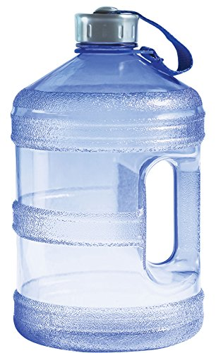 New Wave Enviro BpA Free 1 Gallon Water Bottle (Round)