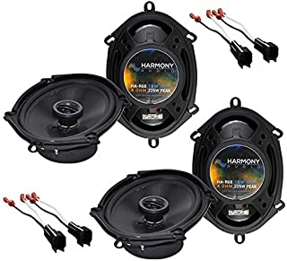 Compatible with Ford Escape 2001-2012 Factory Speaker Replacement Harmony (2) R68 Package New