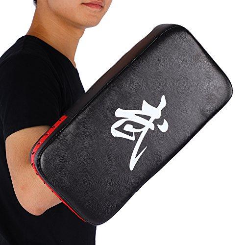 Thai Kick Pads Schlagpolster Kampsport Schlagkissen Hand Fuß Fokus Ziel Pad Pu Leder Punching Box Punch Schutzpolster für Boxen Karate Training Taekwondo Muay MMA Kampfkunst