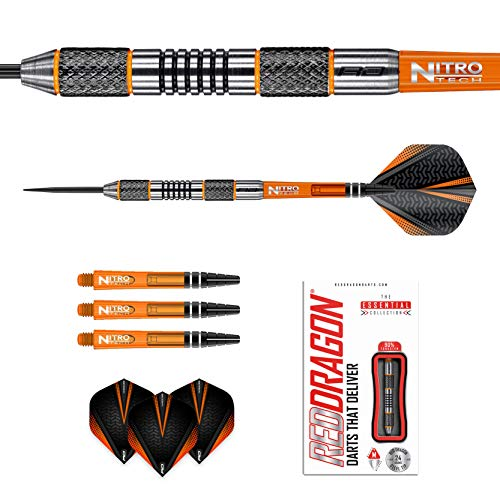 Red Dragon Amberjack 5 Steeldarts, 24g - 4