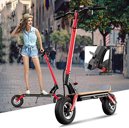 Xiaokang Scooter eléctrico de Alta Potencia de Alta Potencia para Adultos Plegables de Dos Ruedas de Dos Ruedas de Doble Viaje en automóvil eléctrico de Doble Unidad