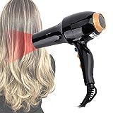 Secador de pelo de salón profesional, potente secador de pe
