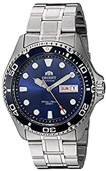 ORIENT Men s Japanese Automatic / Hand-Winding Stainless Steel 200 Meter Diving Watch