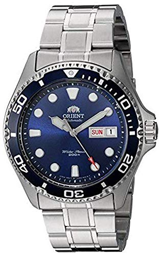 ORIENT Men's Japanese Automatic / Hand-Winding Stainless Steel 200 Meter Diving Watch