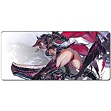 JINHONG XXL Professional Large Mouse Pat & Computer Game Mouse Mat (35.5x15.7x0.12IN Anime mouse pad)(RY012)