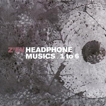 Headphone Musics 1-6