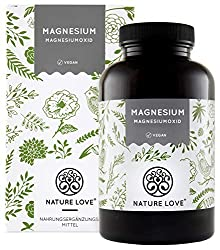 Magnesium - 660mg, of which 400mg elemental magnesium per capsule - more concentrated than magnesium citrate. 365 capsules per year. Laboratory-tested, high-dose, vegan, made in Germany