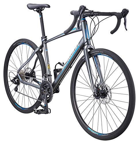Schwinn Vantage Rx 2 700C Gravel Adventure Bike with Disc Brakes, 56cm/Extra Large Frame, Charcoal, Vantage Gravel Bike