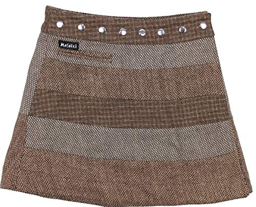 Moshiki Wende-Wickelrock Hot Cookie #30 Tweed Short (M743)