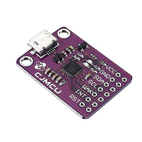 QIBIN Digitaler Temperaturregler, CP2112, USB zu SMBus, I2C-Modul, USB zu I2C IIC, Kommunikationsplatine CCS811, Debugging Board Sensor, Controller, 3 Stück