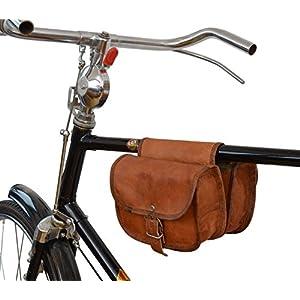 514nF8T8A7L. SS300  - Gusti Bolso para Bicicleta de Cuero Leder Sabine S. Bolso para el Sillín Herramientas Cuero de Cabra Marrón A129b