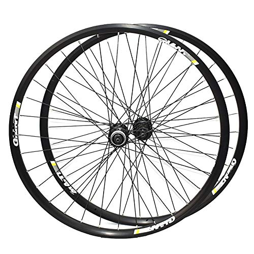 NAINAIWANG 26 Inch Mountain Bike Wheelset Bicycle Wheel Wheelset Front Back Double-Walled Made of Aluminum Alloy with Quick Change Disc Brake 8/9/10 Speed Cassette