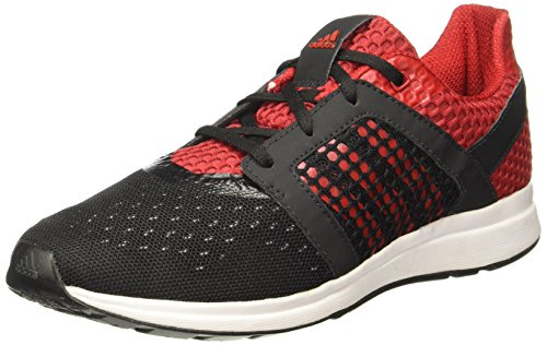 Adidas Men's Yamo M Black/Red Running Shoes - 10 UK/India (44.67 EU) (BA2865)