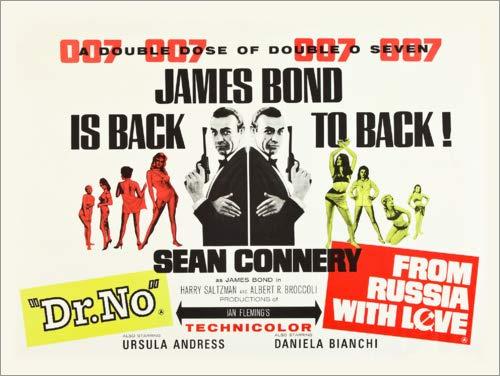Poster 90 x 70 cm: James Bond is Back! di Entertainment Collection - Stampa Artistica Professionale, Nuovo Poster Artistico