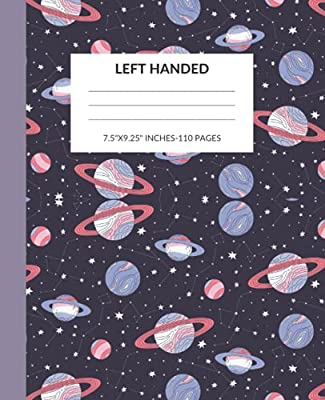 Left Handed Notebook: A Left Handed Composition Notebook with Slanted Lines to Make Writing Easier for Left Handed Kids, Adults, Teens, Men Or Women from Independently published