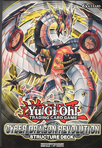 1 x Yu-Gi-Oh - Cyber Drache Revolution Structure Deck - ENGLISH