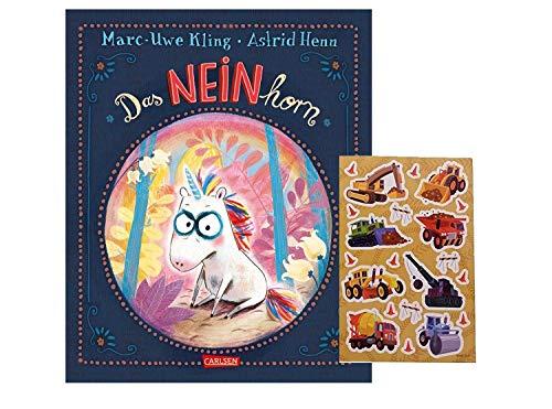 Das NEINhorn (Gebundenes Buch) + 1 Kindersticker , Bilderbuch - Spaß ab 3 Jahren