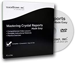 Mastering Crystal Reports Made Easy - CPE Ed. - Training Tutorial v. 2013 and 2011 DVD-ROM