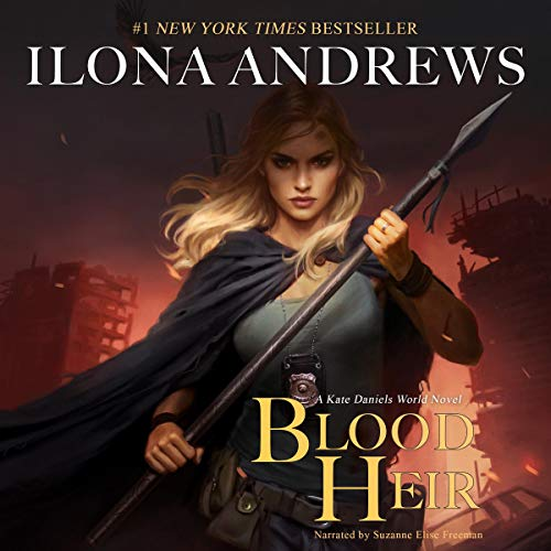 Blood Heir Audiobook By Ilona Andrews cover art