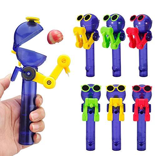 Kalaokei Kids Creative Dust Proof Lollipop Holder Storage Robot Decompression Gift