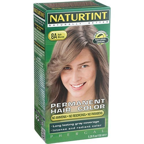 Nature Lipfinity Hair Color, 8 A, Ash Blonde, 5.28 FZ by Nature Lipfinity