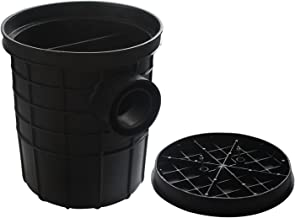 JIAN Trap Keuken Interceptor Afvalwater Behandeling Fabriek Restaurant Afvalwater Tool Olie Afvalwater Sequerator Zwart Pl...
