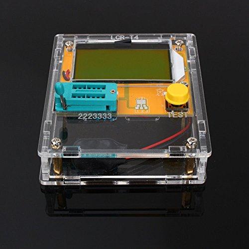 SODIAL LCR-T4 Mega328 transistor testeur diode capacite triode ESR Meter avec coquille